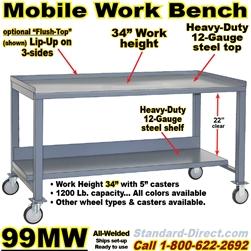 Outstanding Mobile Workbench Carts 99Mw Creativecarmelina Interior Chair Design Creativecarmelinacom